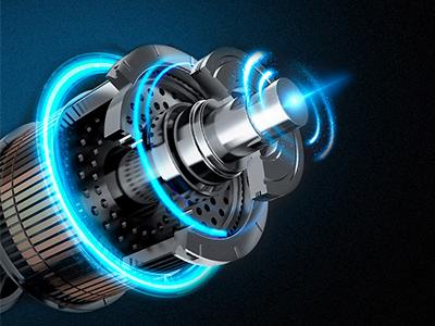 Qual é o princípio de funcionamento do motor de corrente alternada?